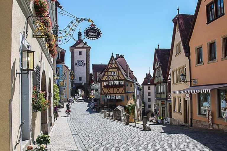 Rothenburg ob der Tauber: Romancing Germany