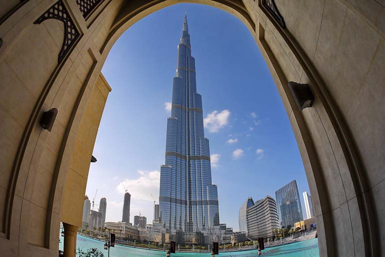 Burj Khalifa, Dubai: The Tallest Building of the World