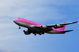 Pink Airline for October