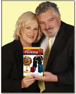John and Barbara With The Get Packing Book