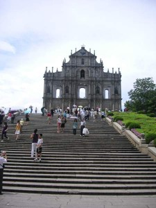 San Pablo Cathedral in Macao