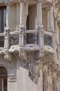 balcony at Palace Suites Hotel Trieste