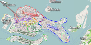 venice map of regions