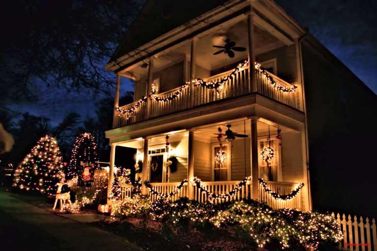 Christmas Town USA in McAdenville, North Carolina