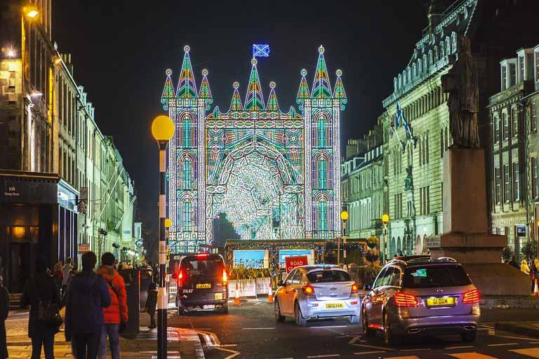 Christmas Activities in Edinburgh, Scotland