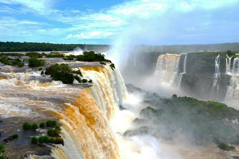 Iguazu Falls: Most Spectacular Waterfall