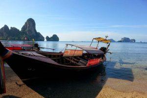online travel consultant railey beach thailand